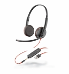 PLANTRONICS HEADSET C3225 BLACKWIRE