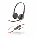 PLANTRONICS HEADSET C3225C BLACKWIRE
